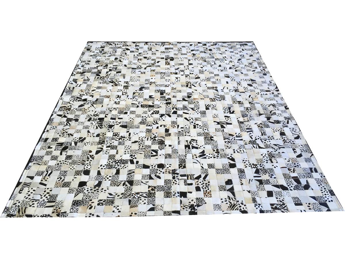 Tapete de couro bege claro estampado 2,00x2,50 sem bordas