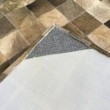 Tapete de couro cinza natural escuro 1,50x2,00 s/b peça 10